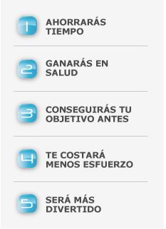 Lista de ventajas Entrenador Personal en Madrid